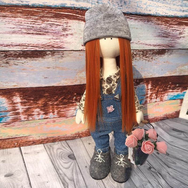 Колекційна лялька тільда Карен