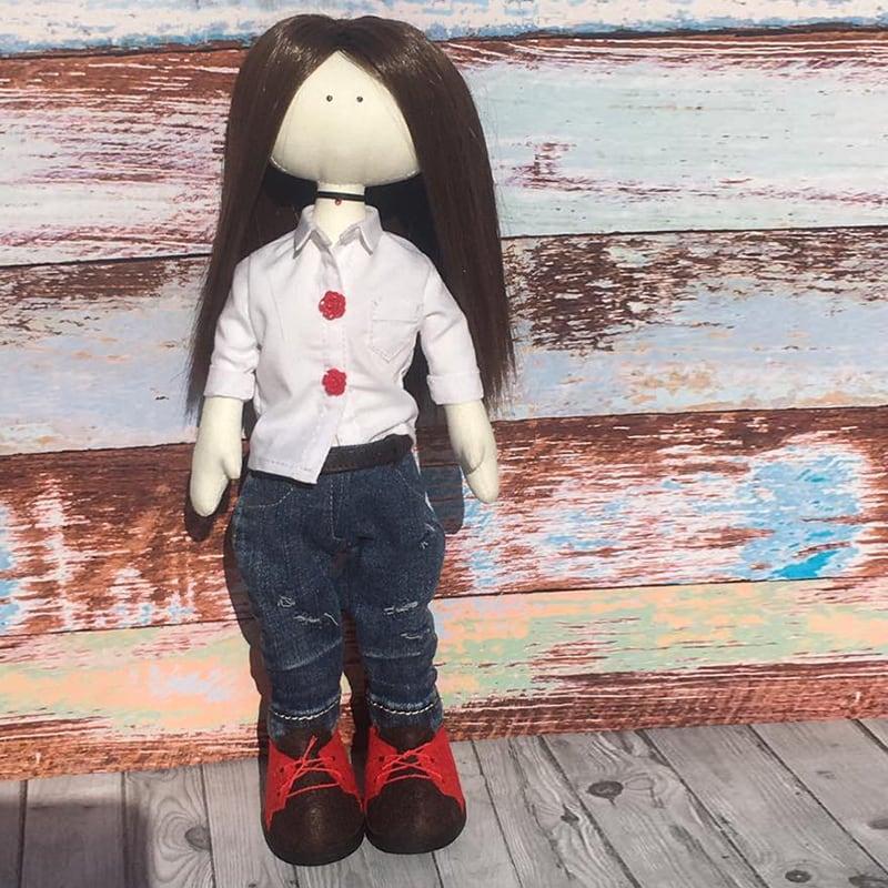 Кукла тильда handmade Келли