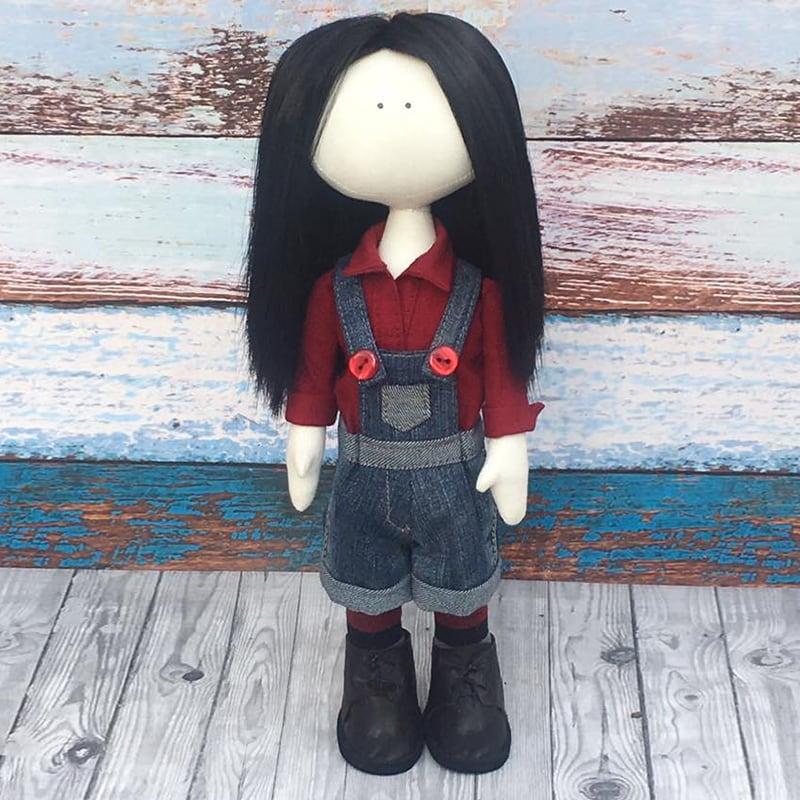 Кукла коллекционная тильда Одри