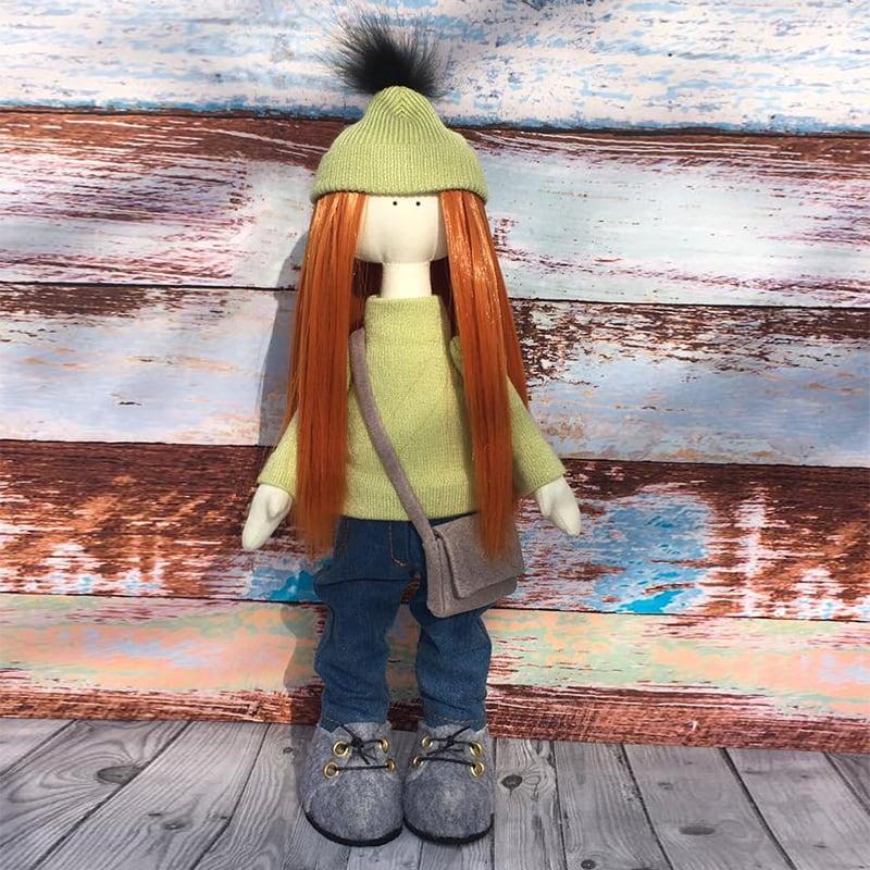 Кукла ручной работы тильда Бонни