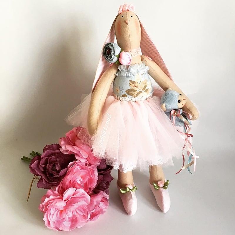 Кукла тильда Зайка Шеби