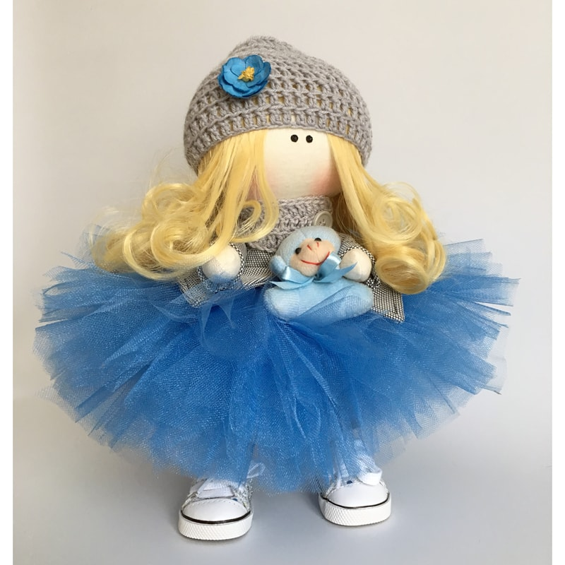 Кукла тильда Вивьен