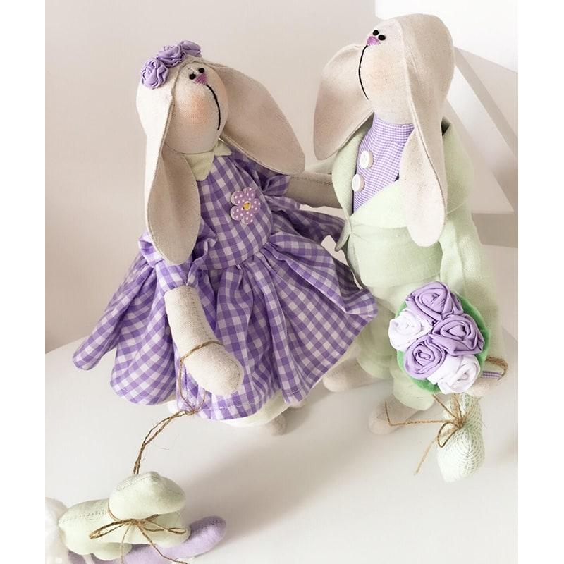 Куклы ручной работы Тильда Молли и Боб