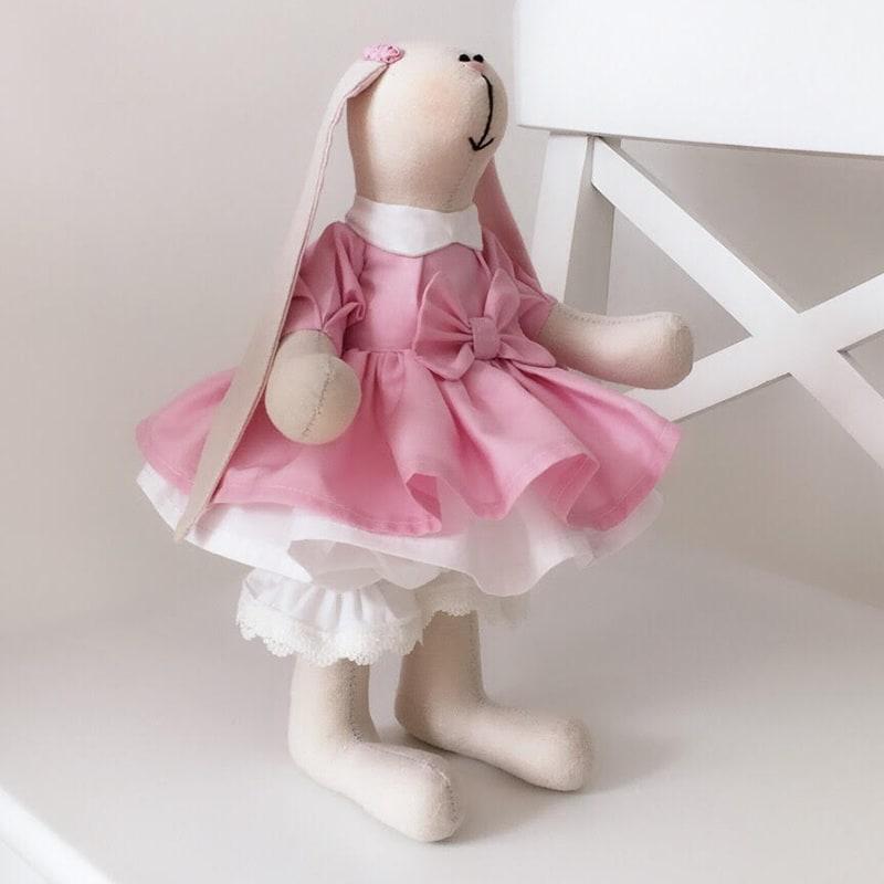 Интерьерная кукла handmade Тильда Розалинда