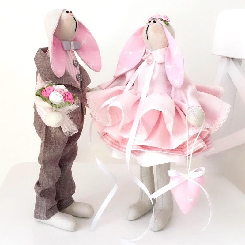 Куклы Тильды ручной работы Эни и Шакс