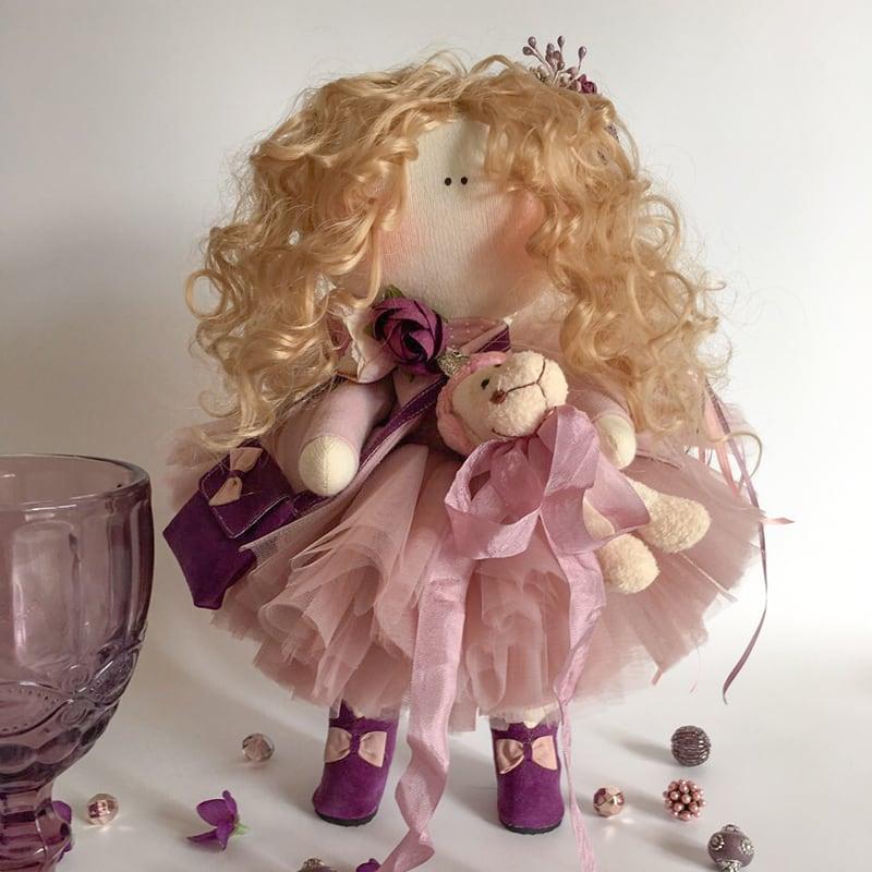 Лялька тільда Клеменс