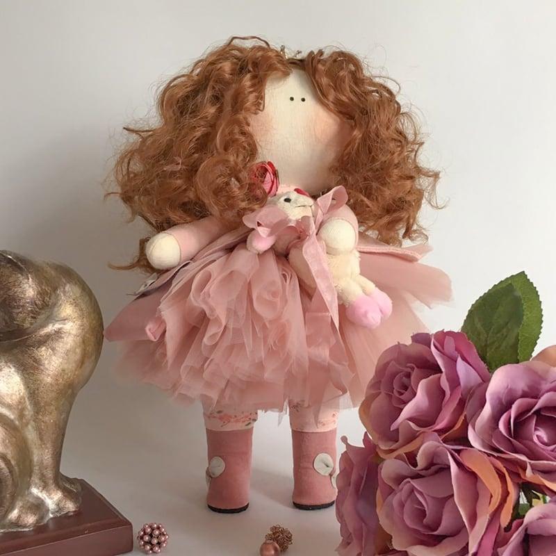 Кукла тильда Манжи