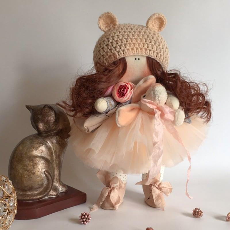 Кукла тильда Нинет