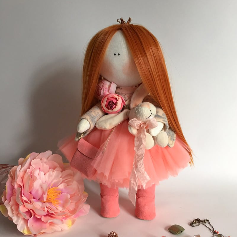 Кукла тильда Оливия