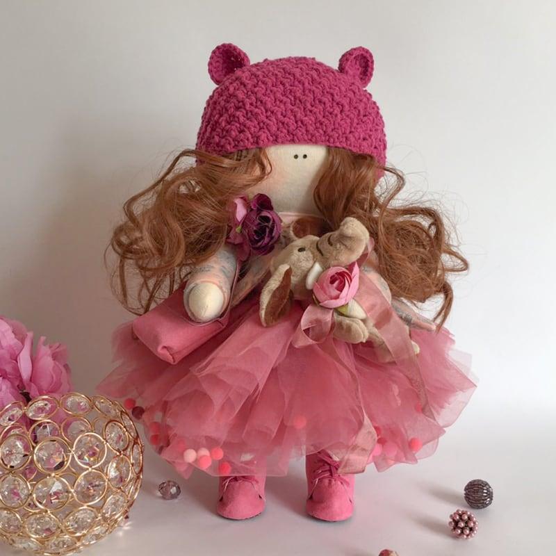 Лялька тільда Принцеса Канді