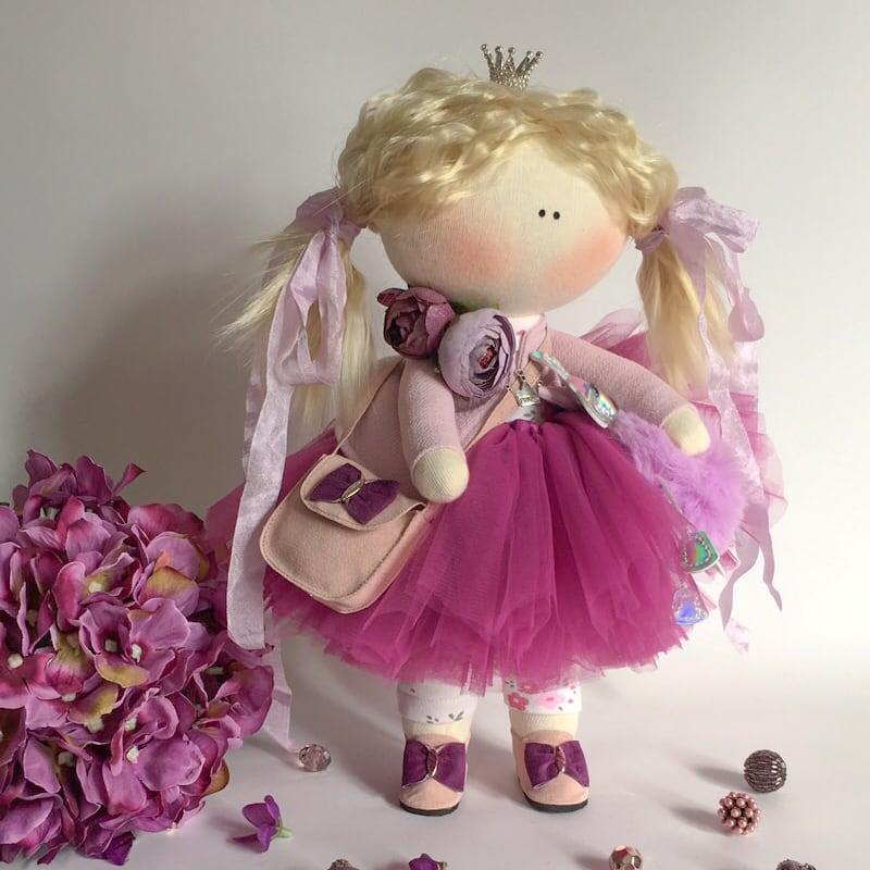 Лялька тільда Принцеса Софі