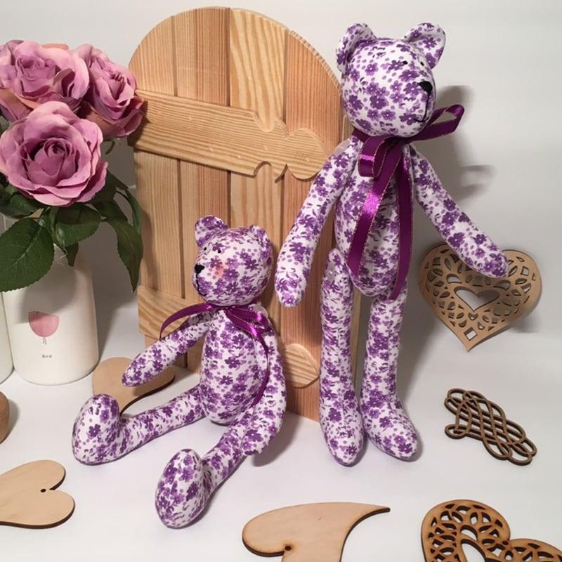 Интерьерная кукла Лавандовый Мишка