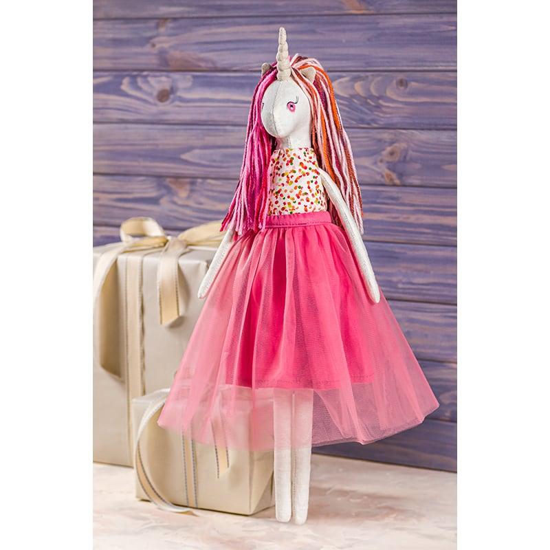 Интерьерная кукла Единорог Розалинда