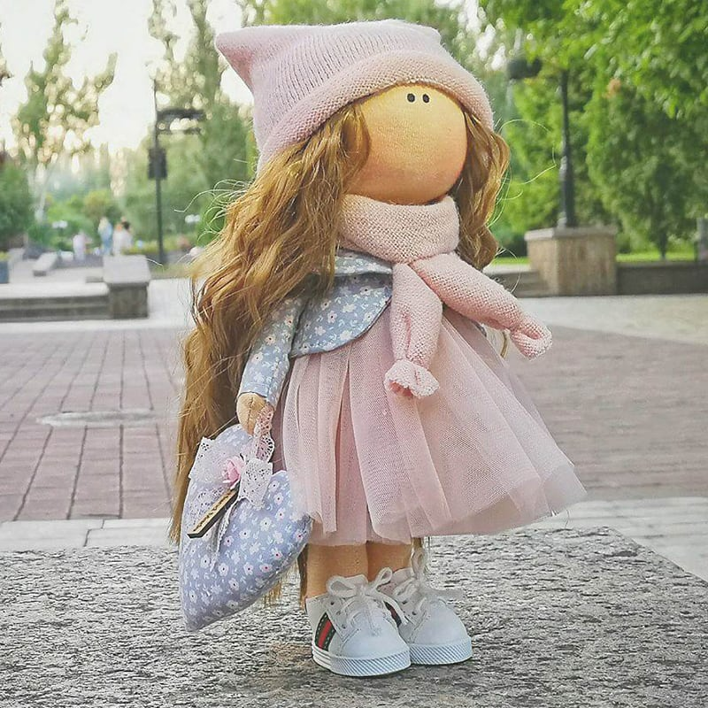 Інтер'єрна лялька Регіна