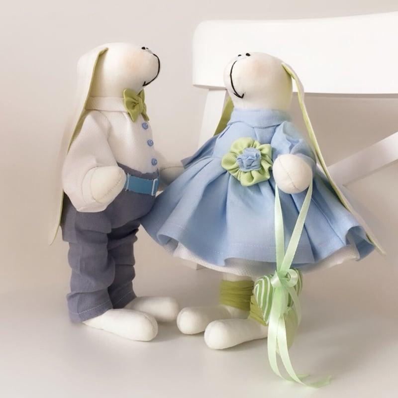 Интерьерные куклы Роджер и Банни