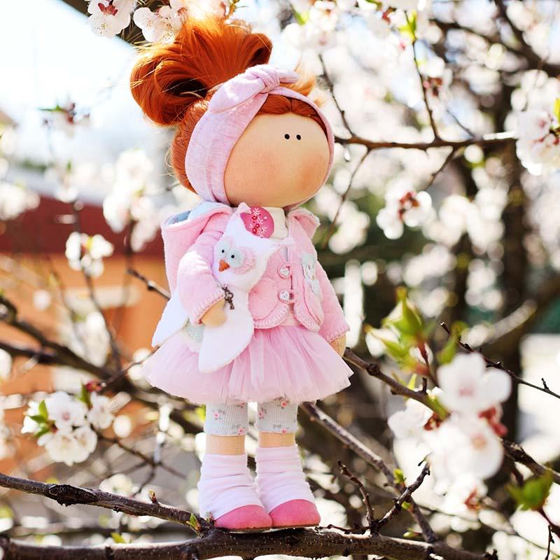 Кукла интерьерная Рыжая Бетси