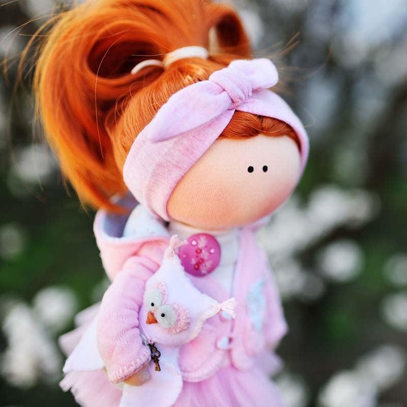 Інтер'єрна лялька Руда Бетсі