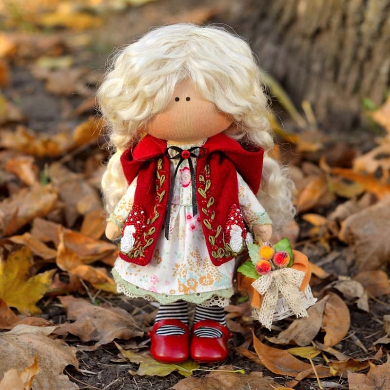 Интерьерная кукла Мюриэль