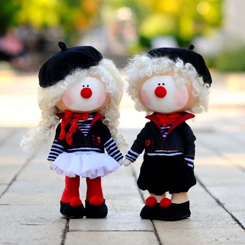 Куклы интерьерные Френк и Лорел