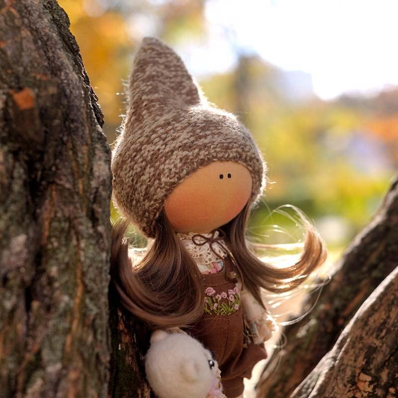 Интерьерная кукла Нану