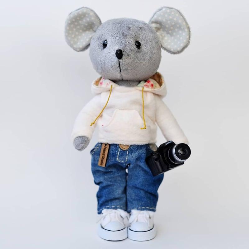 Текстильна лялька John Photographer
