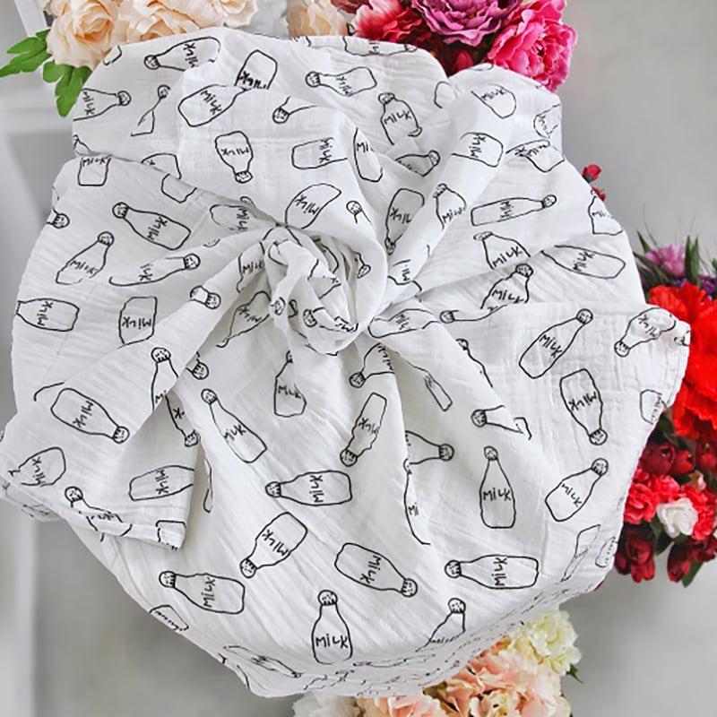 Муслиновые пеленки для новорожденных Milk