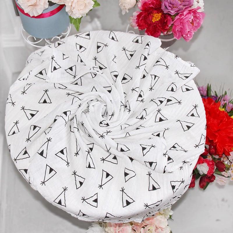 Пеленки муслиновые для новорожденных Wigwam