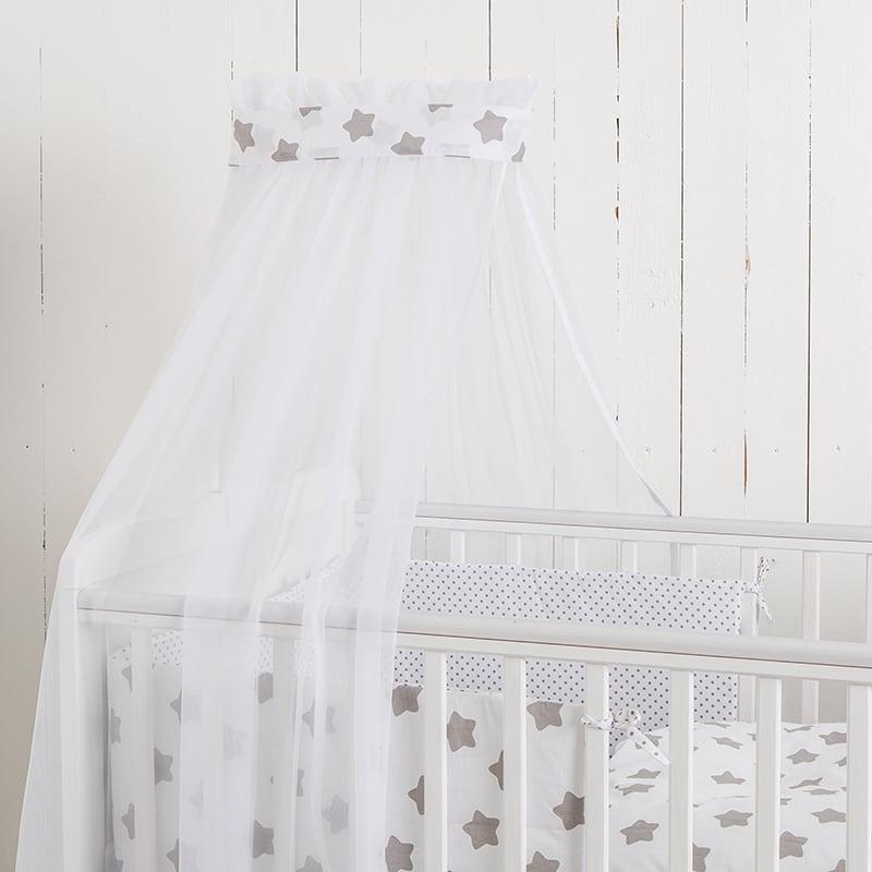 Балдахін на дитяче ліжечко Перлова Зірочка