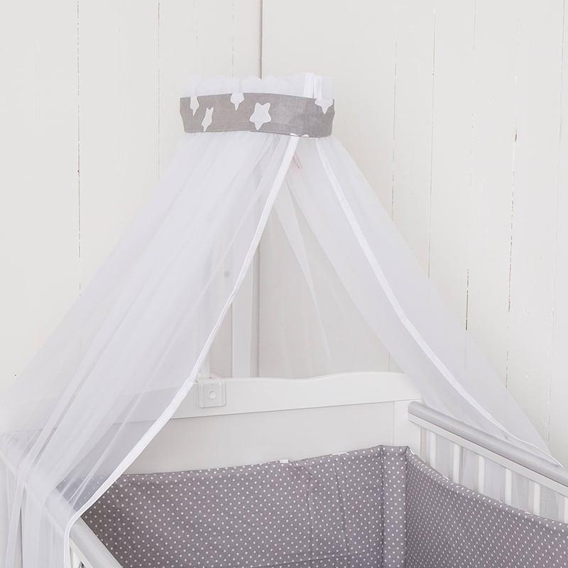 Балдахин на кроватку новорожденного Звездочка Моя
