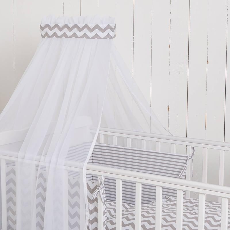 Балдахін на дитяче ліжечко Перлова Корона