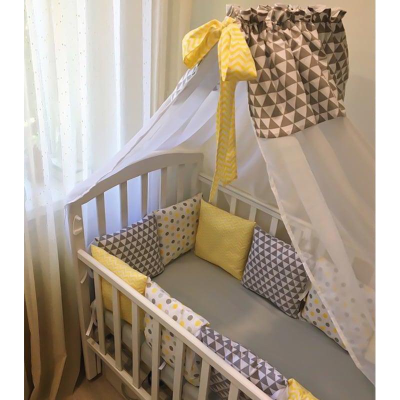 Балдахін на ліжечко новонародженого Сонячний Зайчик