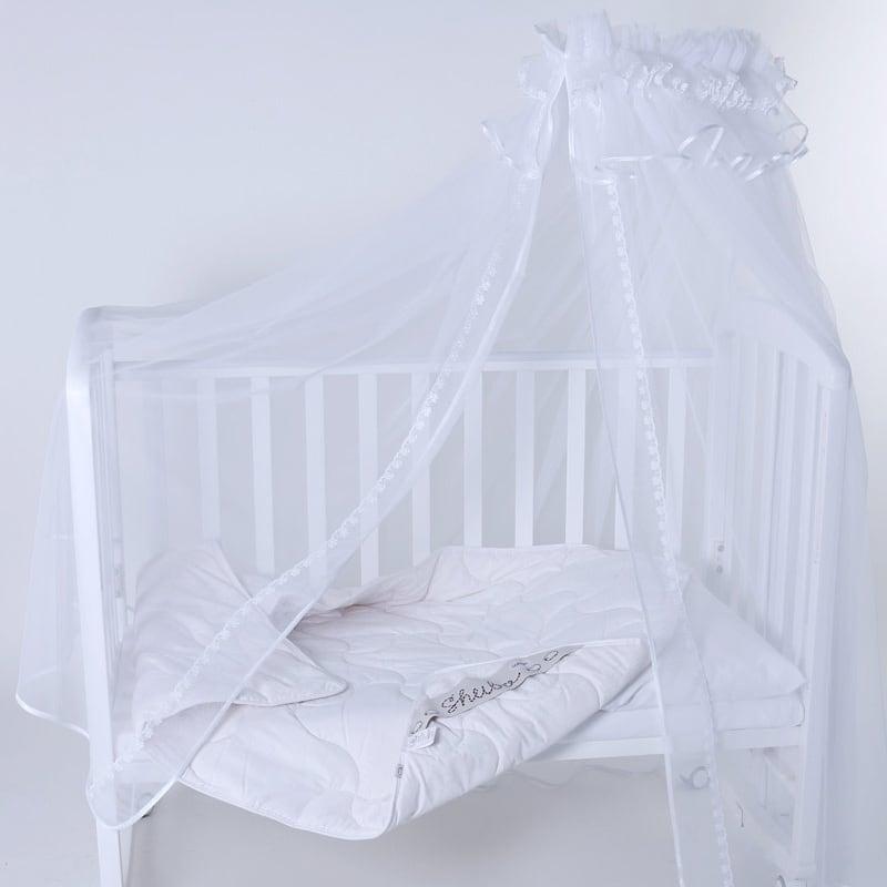 Балдахин на кроватку новорожденному Лилея