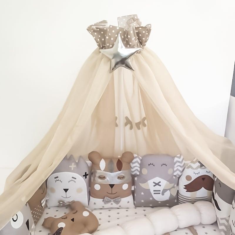 Балдахин на кроватку новорожденному Гейнсборо