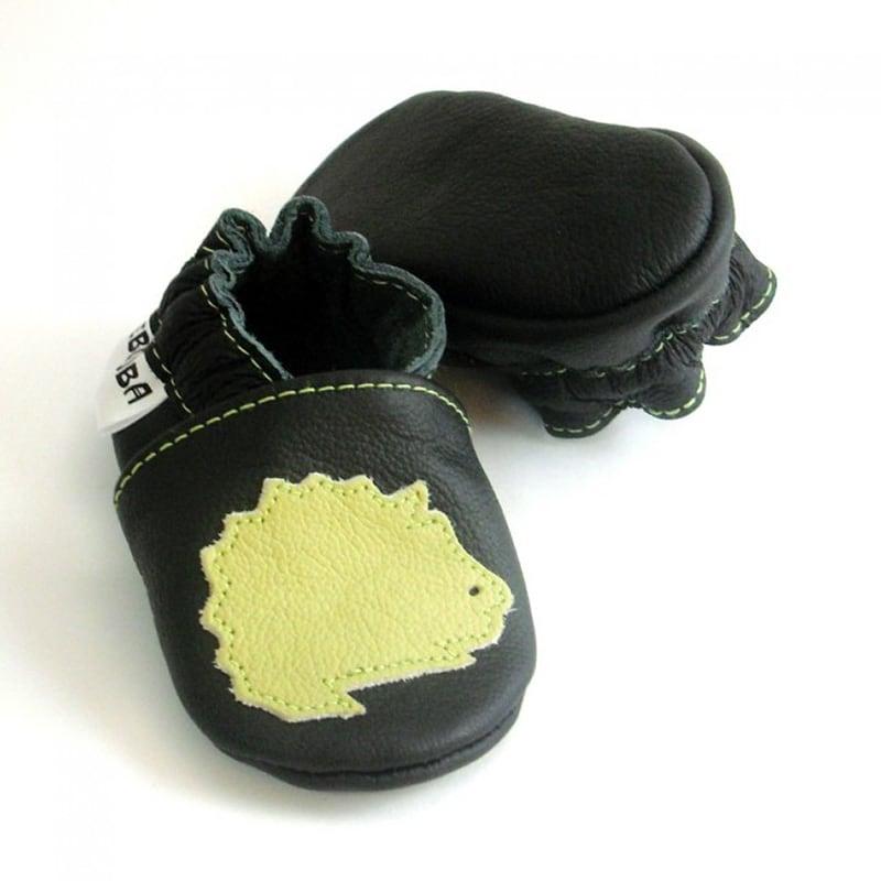 Чешки детские Черный Ежик