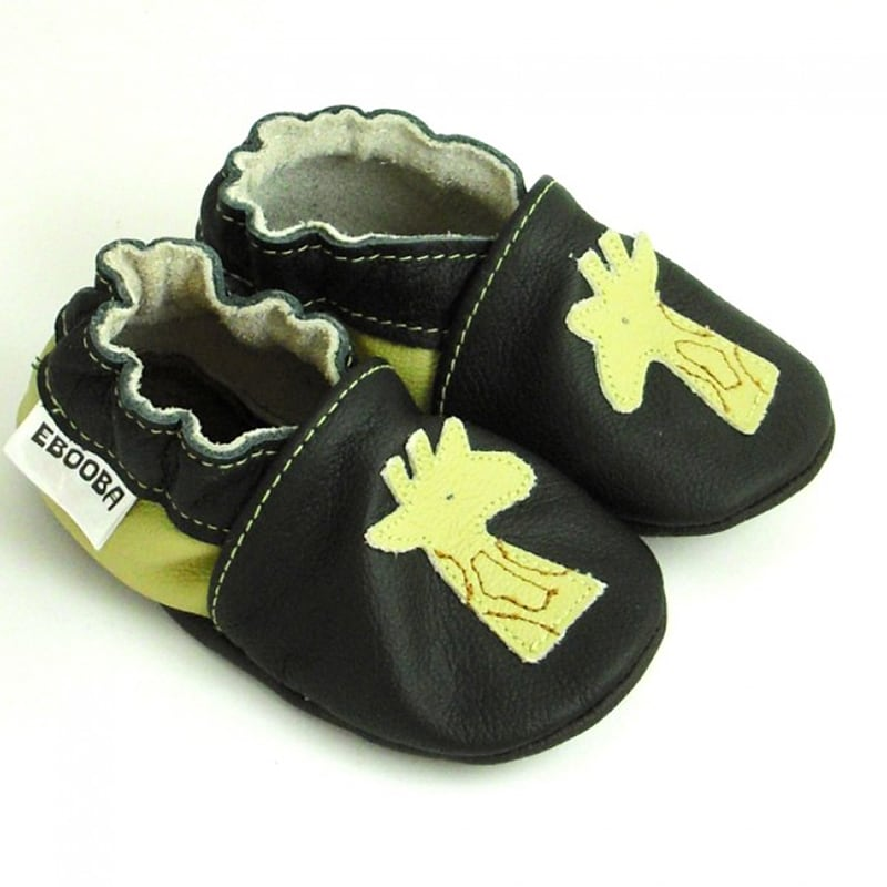 Чешки детские Черный Жираф
