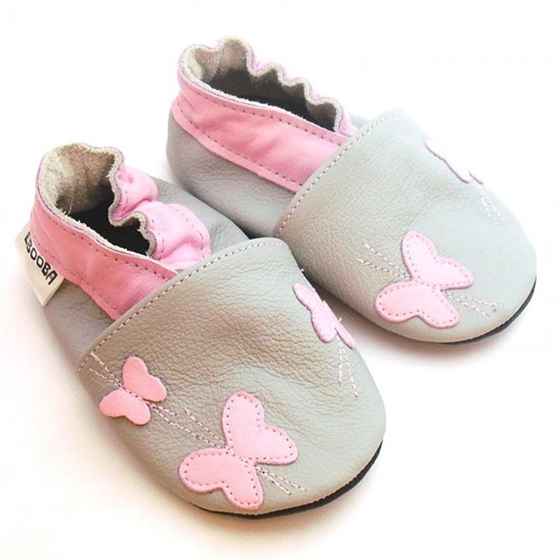 Чешки детские Розовые Бабочки