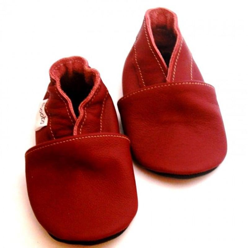 Чешки детские Рыжие Мокасины