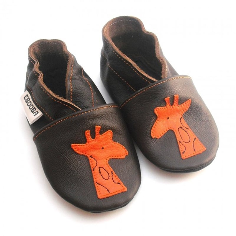 Чешки детские Оранжевый Жираф