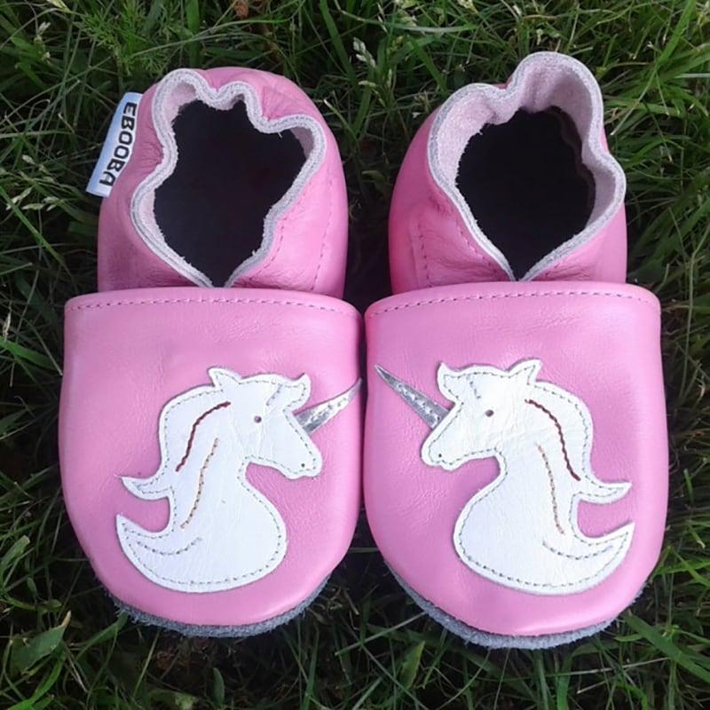 Чешки дитячі для дівчинки Білий Єдиноріг