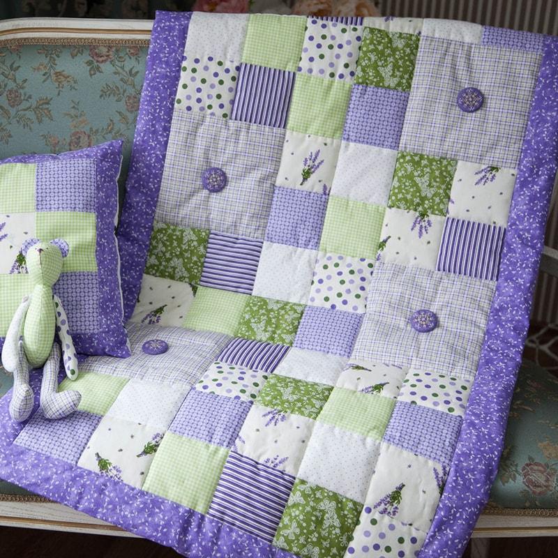 Одеяло в кроватку новорожденным Ленстер