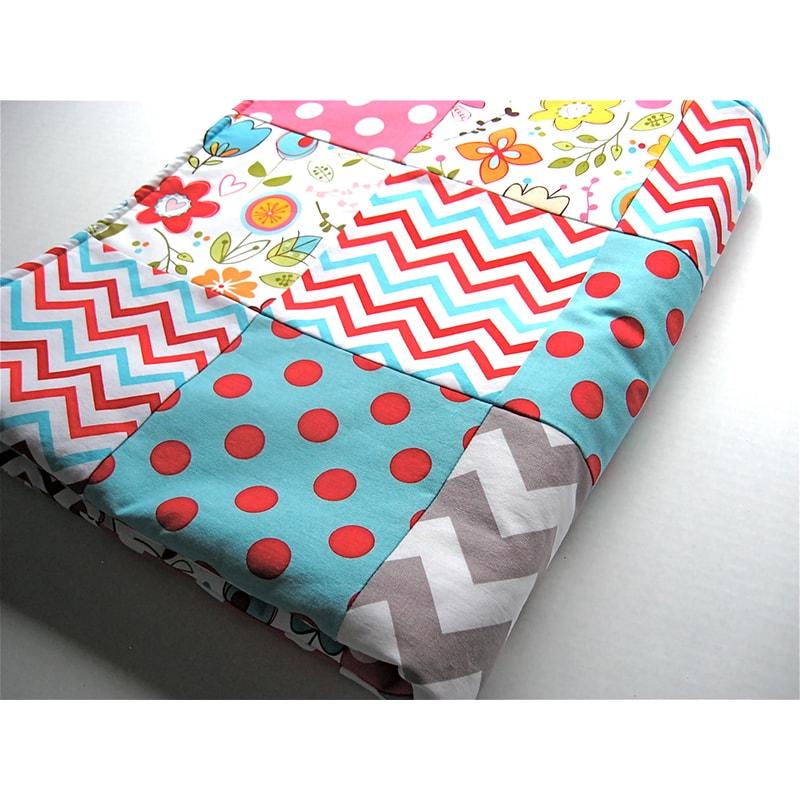 Одеяло для новорожденной девочки Пэчворк Весна