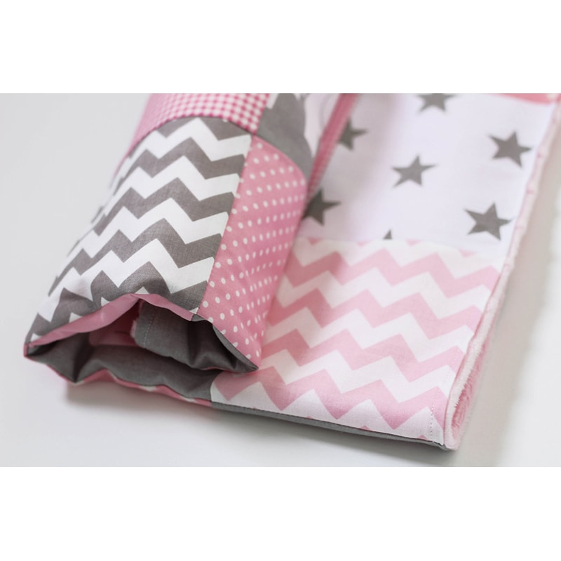 Ковдра для новонародженої дівчинки Рожевий Слоник