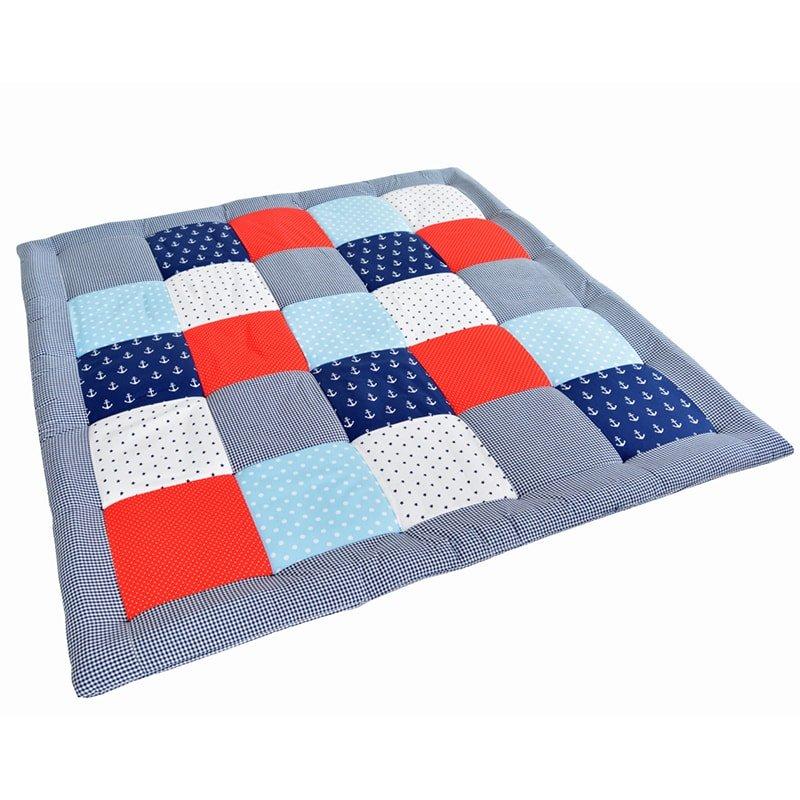Одеяло для новорожденного мальчика Пэчворк Юнга