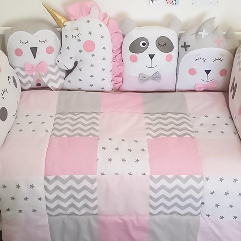 Одеяло-плед для новорожденной девочки Саффолк