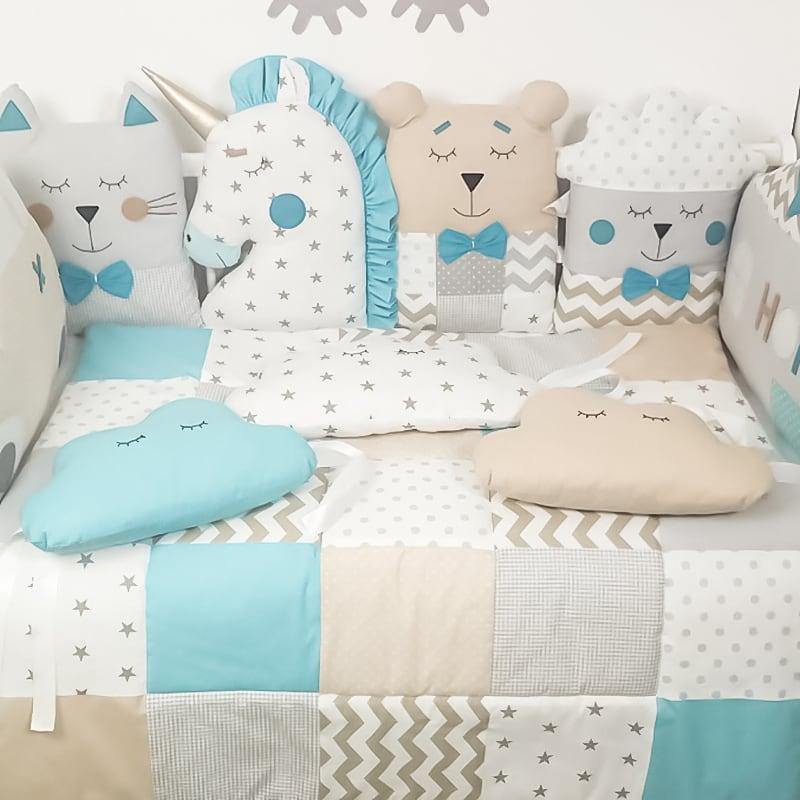 Одеяло в кроватку для новорожденных Камбрия