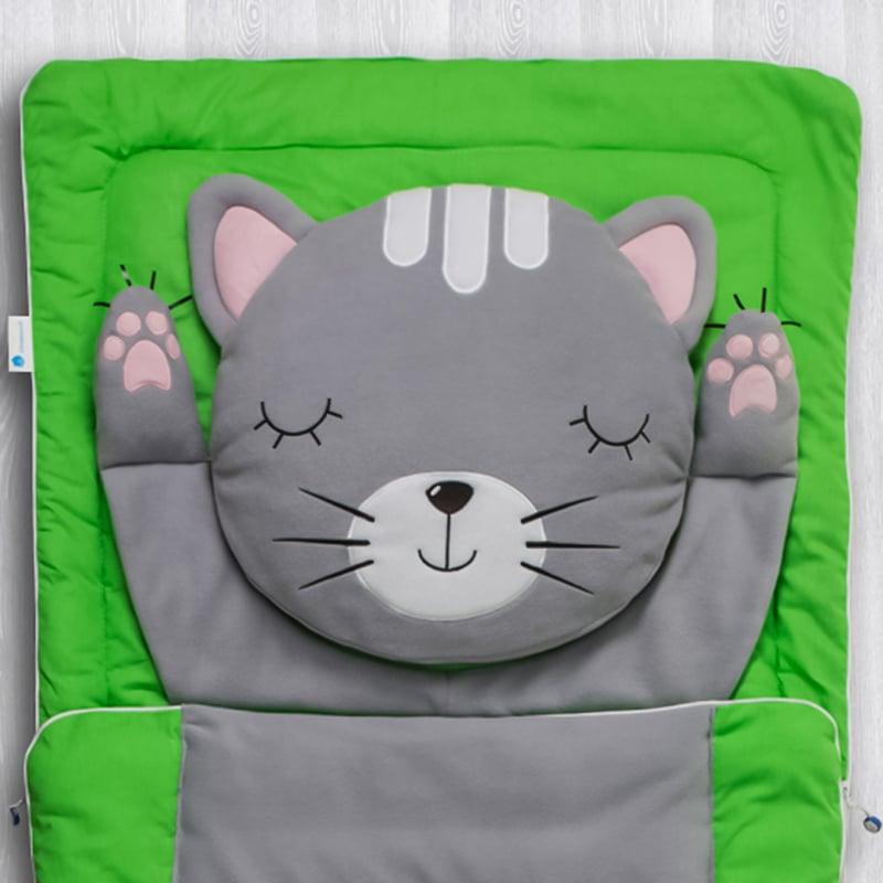 Дитячий спальний мішок Сірий Кіт