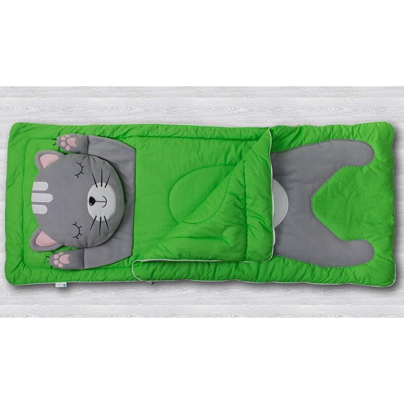 Детский спальный мешок Серый Кот