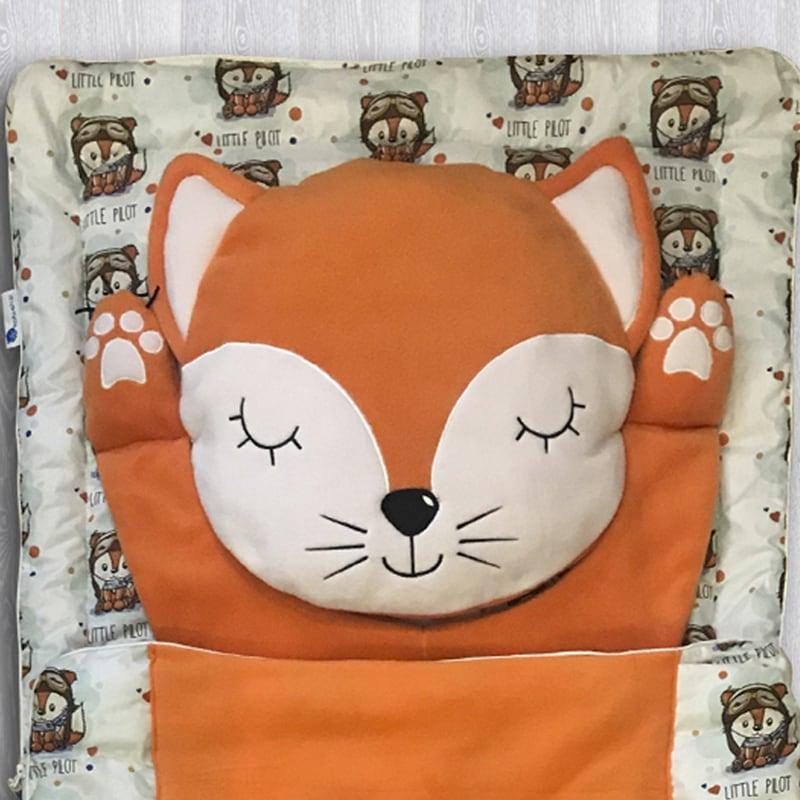Дитячий спальний мішок Рудий Фокс
