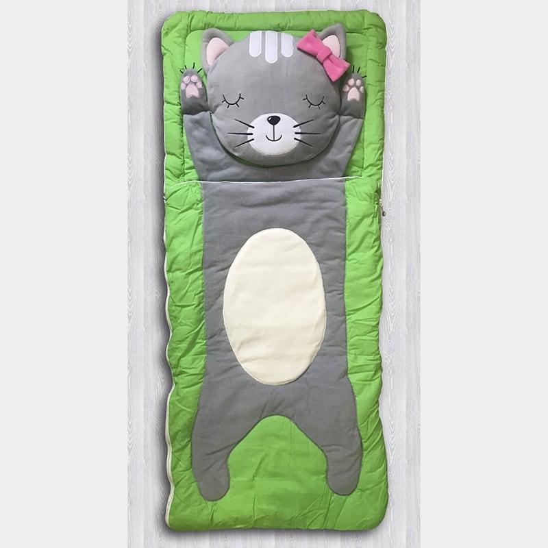 Детский спальный мешок Кошкин Дом