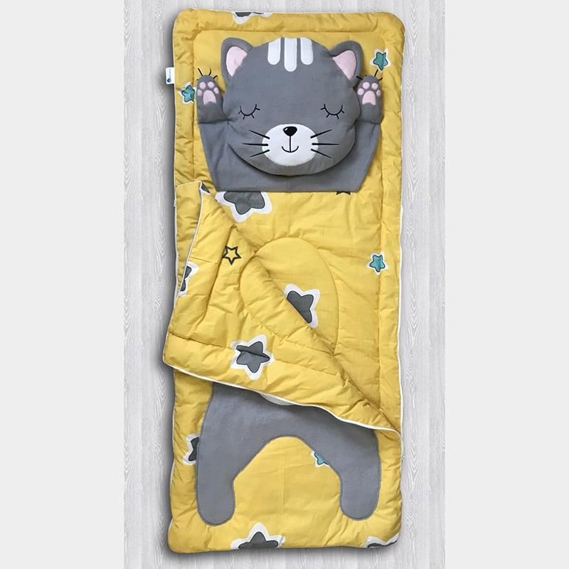 Спальний мішок для хлопчика Зоряний Кіт